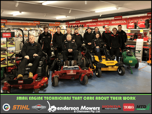 Henderson Mower Staff Photo