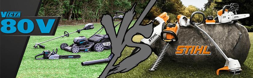 Final Stihl vs Victa
