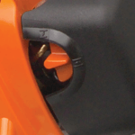 Protected Choke Lever