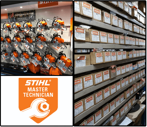 Stihl Spare Parts Page