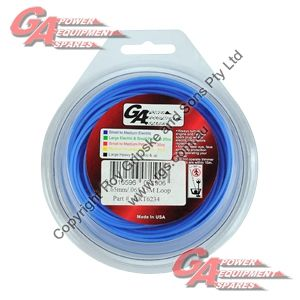 """PRO FIT TRIMMER LINE BLUE .065"""" / 1.60MM CARDED LOOP LENGTH 15M"""