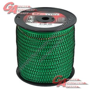 """PRO FIT TRIMMER LINE GREEN .080"""" / 2.00MM SPOOL LENGTH 402M"""