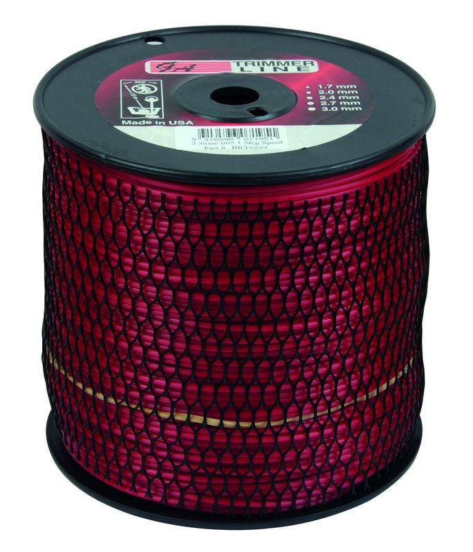 """PRO FIT TRIMMER LINE RED .095"""" / 2.50MM SPOOL LENGTH 288M"""