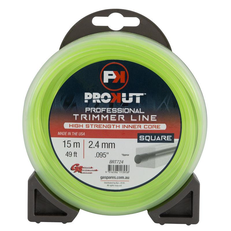 GA PROKUT TRIMMERLINE SQUARE GREEN .095 2.4MM 49