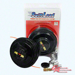SWIFT LOAD BUMP FEED TRIMMER HEAD WITH NEVER SPLIT SYSTEM