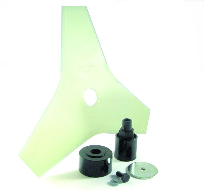 "PLASTIC TRIPLE BLADE 1"" HOLE W/ BLADE ADAPTER KIT SUITS HOMELITE"