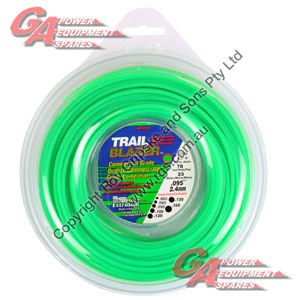 "TRAIL BLAZER TRIMMER LINE .095"" / 2.40MM DONUT LENGTH 23M"