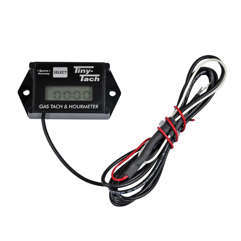Adjustable Resettable Job Timer Tiny Tach TT2A Digital Hour Meter Tachometer