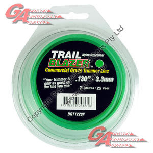 "TRAIL BLAZER TRIMMER LINE .130"" / 3.30MM TEARDROP LOOPS LENGTH 25"