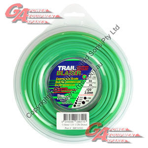 "TRAIL BLAZER TRIMMER LINE .120"" / 3.00MM DONUT LENGTH 26M"