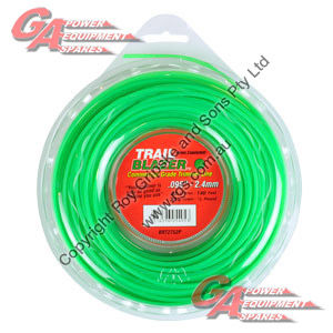 "TRAIL BLAZER TRIMMER LINE .095"" / 2.40MM DONUT LENGTH 43M"