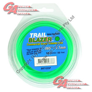 "TRAIL BLAZER TRIMMER LINE .065"" / 1.70MM TEARDROP LOOPS LENGTH 50"
