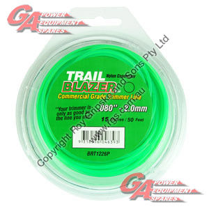 "TRAIL BLAZER TRIMMER LINE .080"" / 2.00MM TEARDROP LOOPS LENGTH 50"