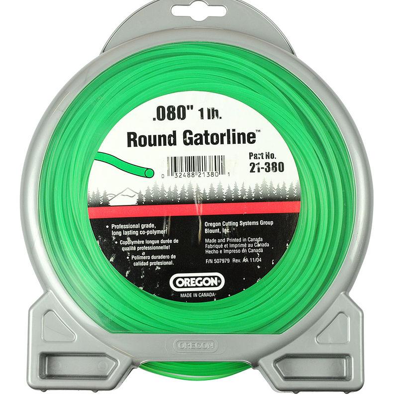 "OREGON GATORLINE ROUND PRO DONUT 0.08"" (2MM) X 416"