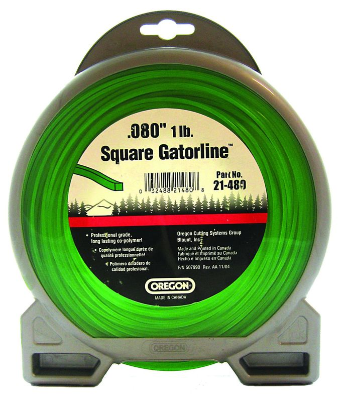 "OREGON GATORLINE SQUARE PRO DONUT 0.08"" (2MM) X 327"