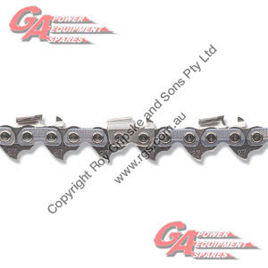 """OREGON LOOP OF CHAINSAW CHAIN 27RX #27 .404"""" PITCH .063"""" GA MICRO CHISEL"""
