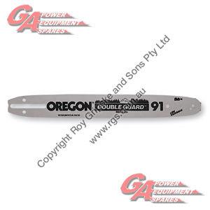 """OREGON DOUBLE GUARD SPROCKET NOSE GUIDE BAR 16"""" #91 A061 3/8"""" LP .050"""" GA 7/9-TEETH"""