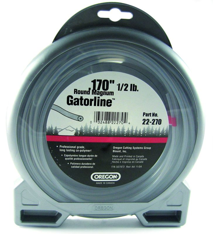 "OREGON GATORLINE ROUND MAGNUM DONUT 0.17"" (4.3MM) X 46"