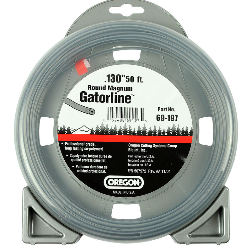 "OREGON GATORLINE ROUND MAGNUM DONUT 0.13"" (3.3MM) X 50"