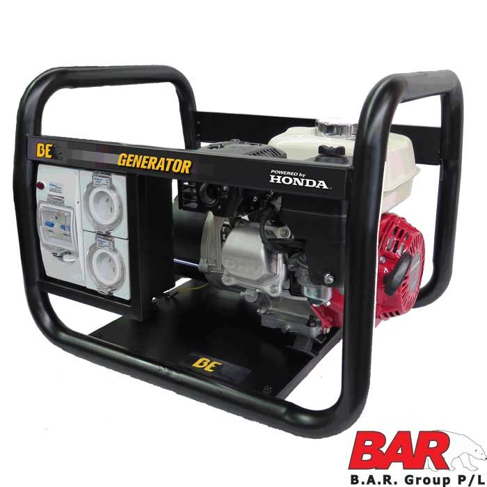 BE Trade Pro 34kVA Honda Powered Generator