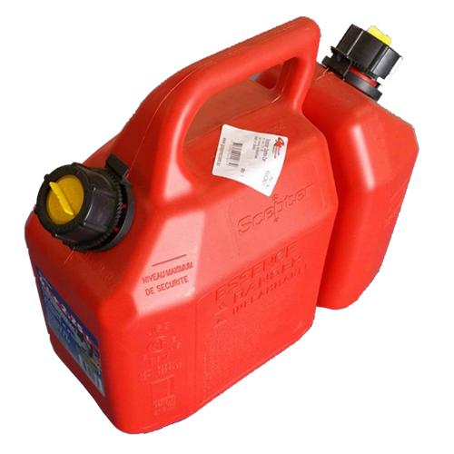 Dual Fuel Can 6 Litre Fuel + 25 Litre Oil