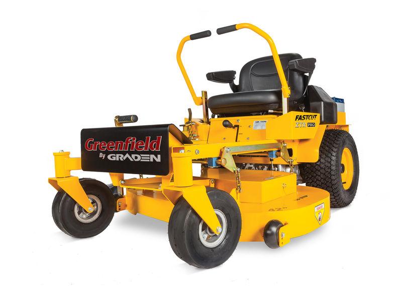 Greenfield FastCut ZTR Pro 42andquot Cut 25Hp VTwin