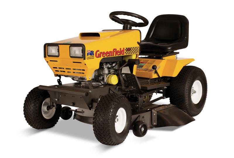 Greenfield RideOn Mower Evolution175hp 34andquot Cut