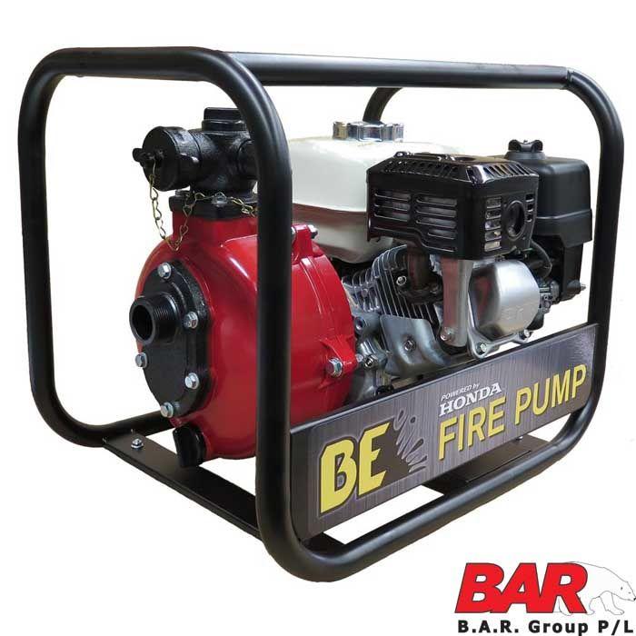 Honda Powered 2 Single Impeller Water Pump