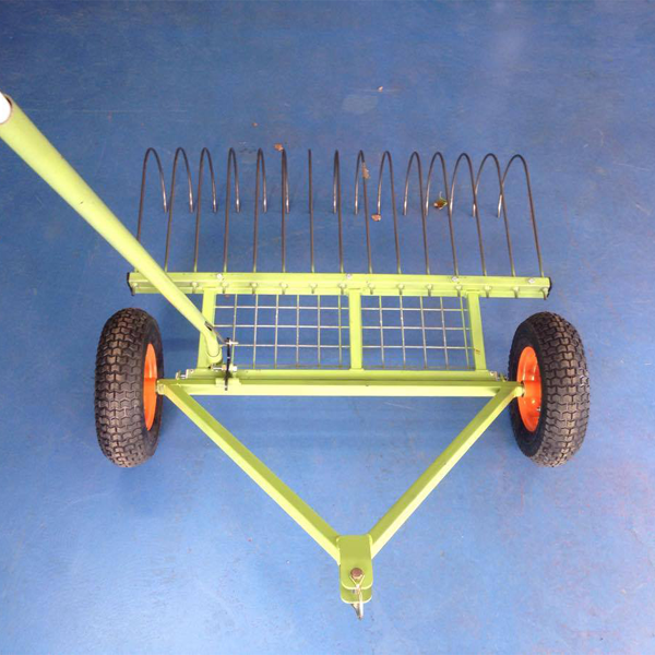 Ride On Mower Stick Rake Attachment Henderson Mowers