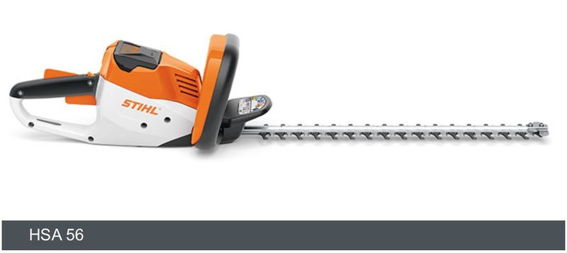 Stihl HSA 56 LithiumIon Hedge Trimmer console only