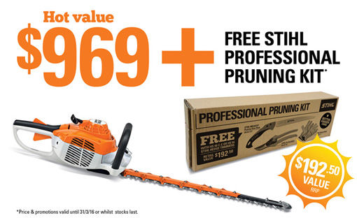 Stihl HS 56 C E Hedge Trimmer