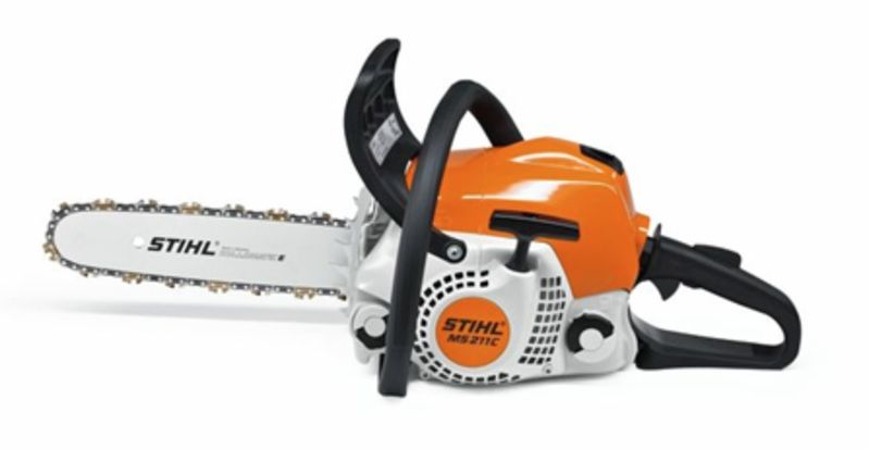 stihl ms 211 c be mini boss chainsaw henderson mowers chainsaws. Black Bedroom Furniture Sets. Home Design Ideas