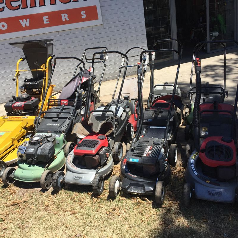 Used Push Mowers Available