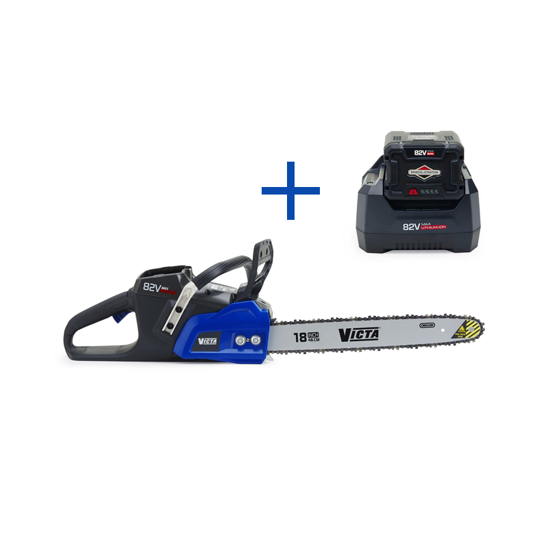 Victa 82V Lithium Ion Chainsaw Battery + Charger Inc