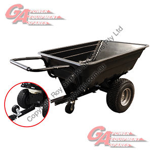 Wide Wheel Tip Trailer