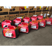 Eu22i Generator Outlets Open   Worksafe Compliant and Waterproof Outlet