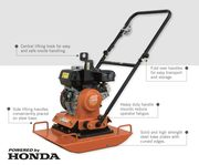 Flextool Plate Compactor 87kg Honda Powered