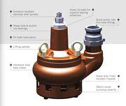 Flextool Submersible Pump 6m  Abrasion Resistant FP212A