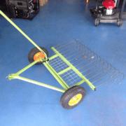 Ride-On Mower Stick Rake Attachment | Henderson Mowers