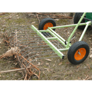Ride-On Mower Stick Rake Attachment