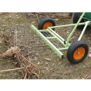 Ride-On Mower Stick Rake Attachment