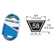TRUE BLUE V-BELT 5/8 X 66 (B63) - SKU:258-066
