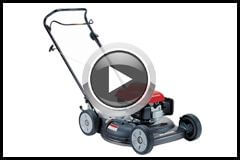 HRS216 Side chute mower