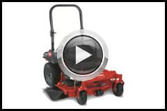 Toro 5000 series rear discharge deck