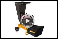 Greenfield Piecemaker Shredder Chipper demonstration