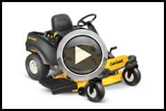 Cub Cadet Zero Turn Mower Demonstration