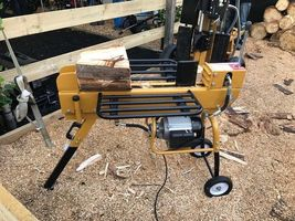 10T Electric Log Splitter